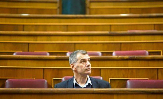 El diputado de Ciudadanos Toni Cantó, en el Congreso de los Diputados.