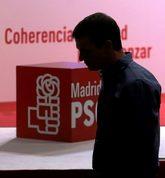 Un cabizbajo Pedro Sánchez, el pasado octubre, durante el congreso...