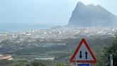 Panorámica de La Línea de la Concepción y del Peñón de Gibraltar