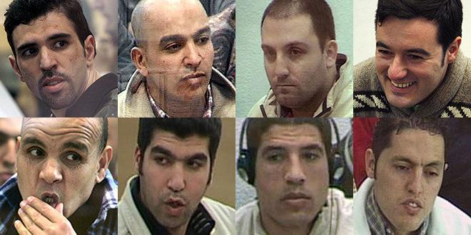 Los ocho detenidos tras el 11-M que aún continúan en prisión