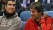 Enric Stern (izqda.) y Jaume Roura, durante el juicio en la Audiencia...