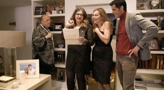 Ana Obregón es la anfitriona del último programa de Ven a cenar...