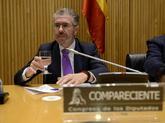 Francisco Granados, durante su comparecencia en la comisión que...