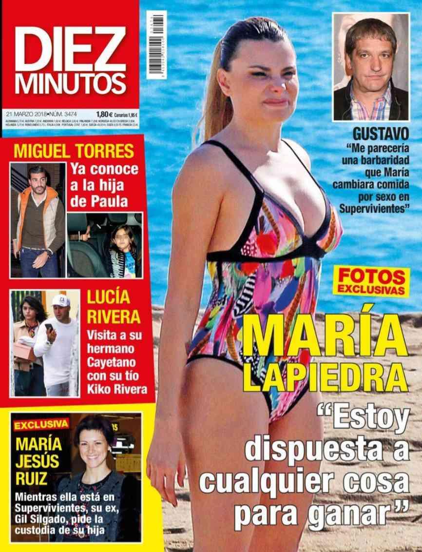 La El Mundo María LapiedraTodo Por PastaLocfamosos thrdQsCx