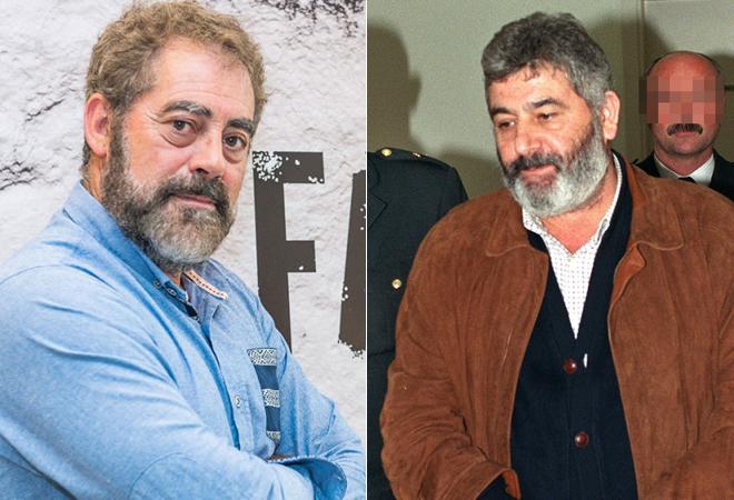 El actor Carlos Blanco interpreta al narcotraficante Laureano Oubiña...