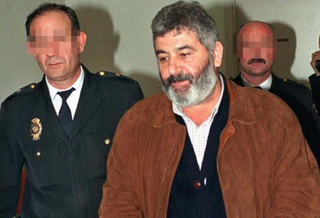 Laureano Oubiña a su llegada a España tras ser detenido en Grecia