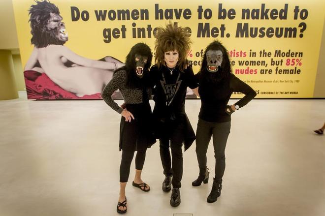 Exposición encabezada por el grupo Guerrilla Girls en Bilbao.
