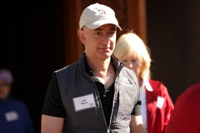 El fundador y dueño de Amazon, Jeff Bezos.