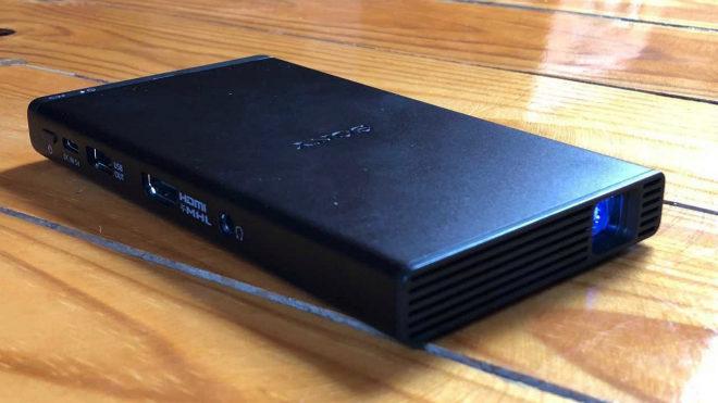 El proyector MP-CD1 de Sony puede convertirse en tu compañero inseparable