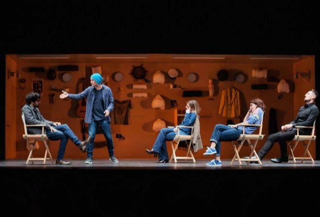 La trastienda del cine se sube al escenario en 'El tratamiento'