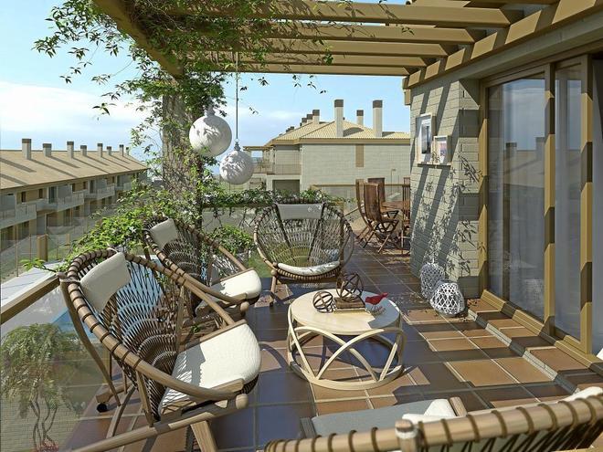 Terrazas para ganar espacio y ahorrar en la factura for Viviendas sobre terrazas