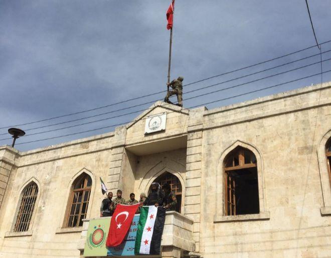 Erdogan anuncia la toma de la ciudad siria de Afrín