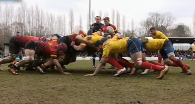 La selección española de rugby cae en Bélgica y buscará en la repesca el billete al Mundial