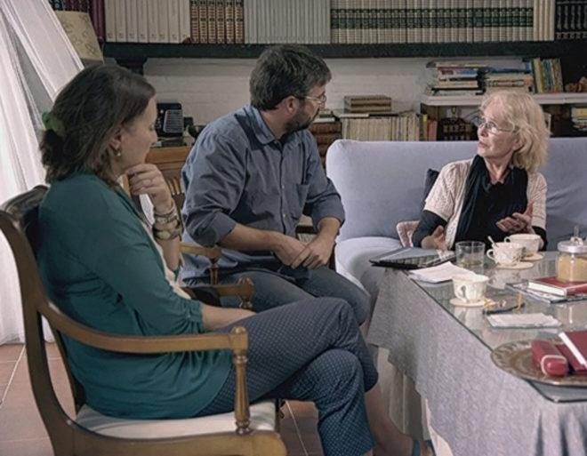 Eugenia Parejo (dcha.) repite en TV tras participar en el programa embrionario, con Oriol Junqueras en Sevilla.