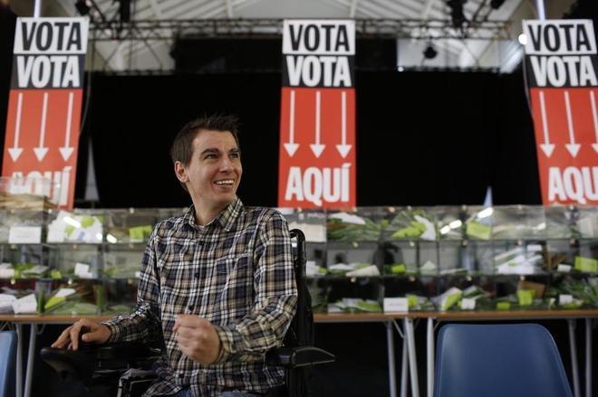 El delegado de Participación Ciudadana del Ayuntamiento de Madrid, Pablo Soto.