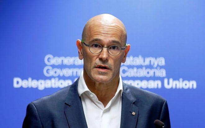 El ex consejero de Exteriores de la Generalitat, Raül Romeva