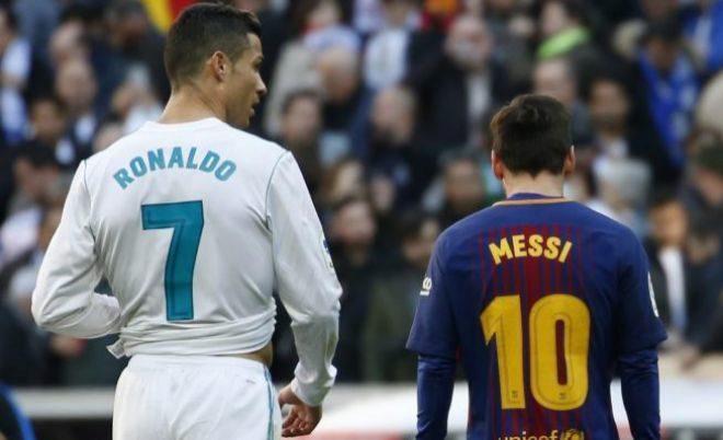 Cristiano y Messi, durante el último clásico.