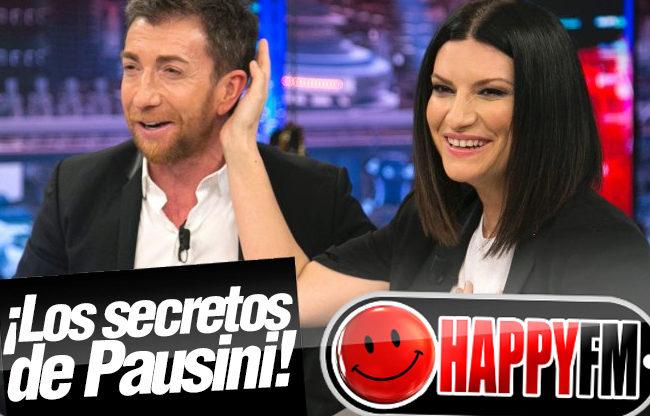 Las grandes confesiones de Laura Pausini en 'El Hormiguero'