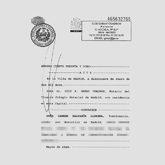 Fragmento del acta notarial en el que se relata el desvío de fondos...