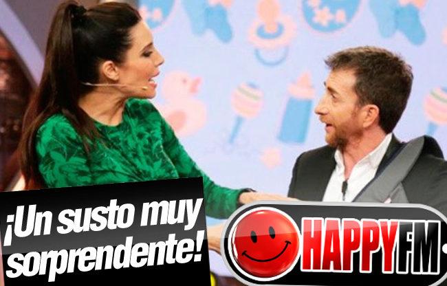 Pablo Motos se lleva el susto de su vida al creer que Pilar Rubio se había puesto de parto en directo