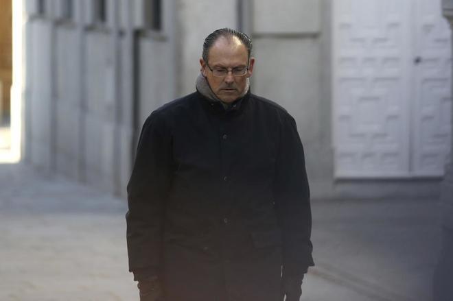 Mario Pascual, abogado de Iñaki Urdangarin, a su llegada al Tribunal Supremo.