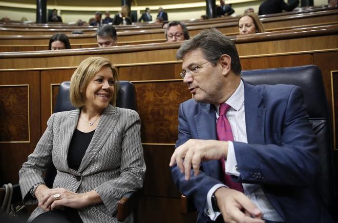 La comisión sobre el PP cita a Cospedal y al primero de los donantes de los 'papeles de Bárcenas'