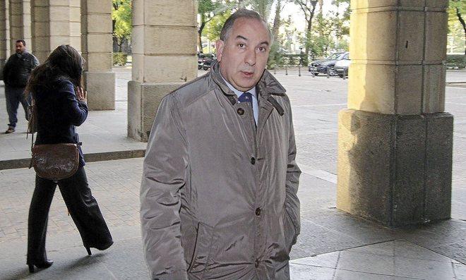 El juez Juan Gutiérrez Casillas, en los juzgados de Sevilla.