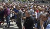 Concentración en Sabiñánigo (Huesca) por la muerte de Naiara