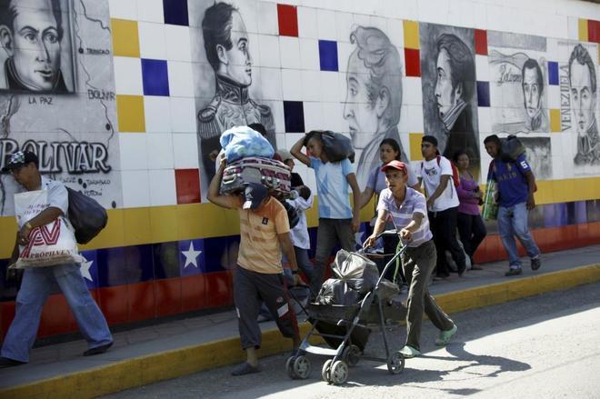 Temor en la tierra prometida de los venezolanos