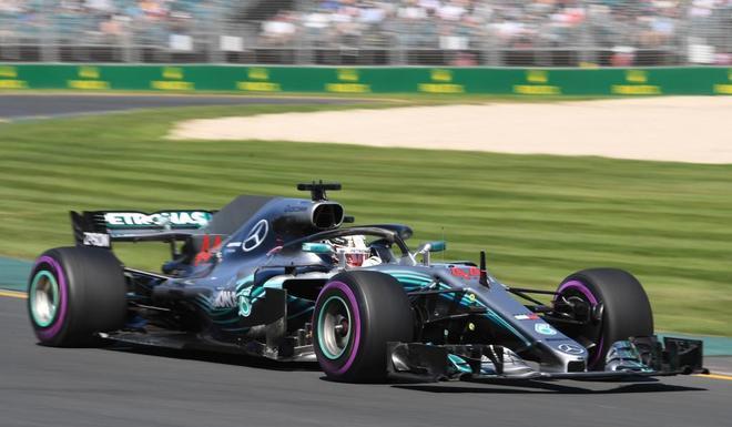 GP Australia F1 2018: los Mercedes, con Hamilton y Bottas, los más rápidos en la primera sesión libre