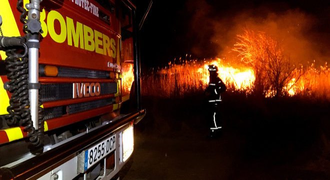 Ning n identificado por el incendio forestal en el parque - El tiempo en torreblanca castellon ...