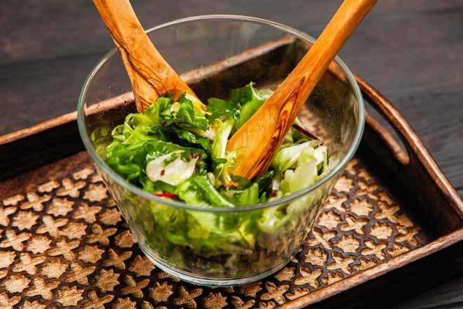 ingredientes para hacer ensalada de vegetales