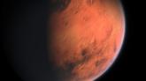 """Vio un """"objeto muy brillante""""... y resultó ser el planeta Marte."""