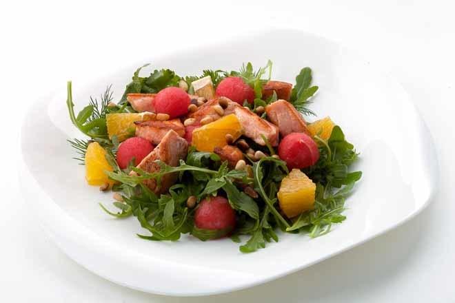 Ensaladas de verduras crudas para adelgazar