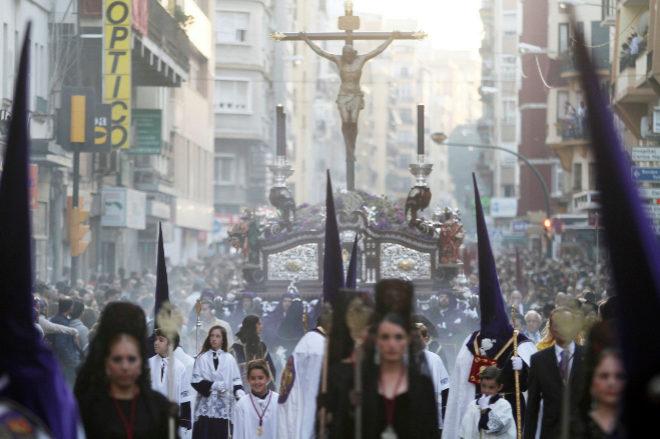 Desfiles procesionales del Jueves Santo de la Semana Santa de Malaga