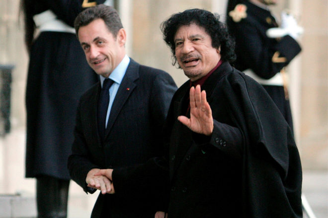 Nicolas Sarkozy, bajo custodia policial por la financiación ilegal de