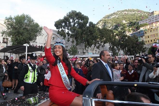Tras su victoria en el certamen de Miss Mundo 2009, Kaiane López...