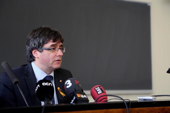 El ex 'president' de la Generalitat, Carles Puigdemont.