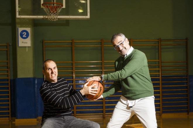 Javier Fesser y David Marqués, director y guionista de 'Campeones' respectivamente.
