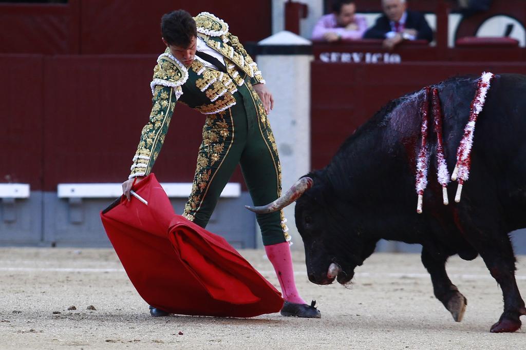 Daniel Luque, en Las Ventas
