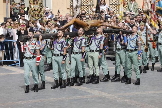 Desembarco De Ministros En Málaga Para Ver A La Legión Y Al Cristo De La Buena Muerte Andalucía