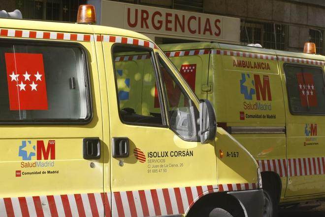 Ambulancias del Summa Comunidad de Madrid.
