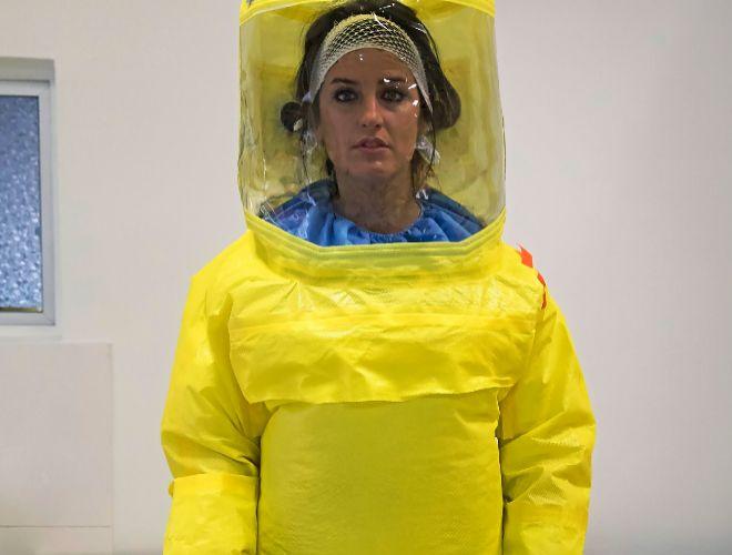 Así se 'vacuna' contra el ébola el hospital en el que se contagió la enfermera