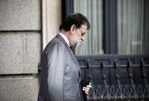 Mariano Rajoy, meditabundo esta semana en el Congreso.