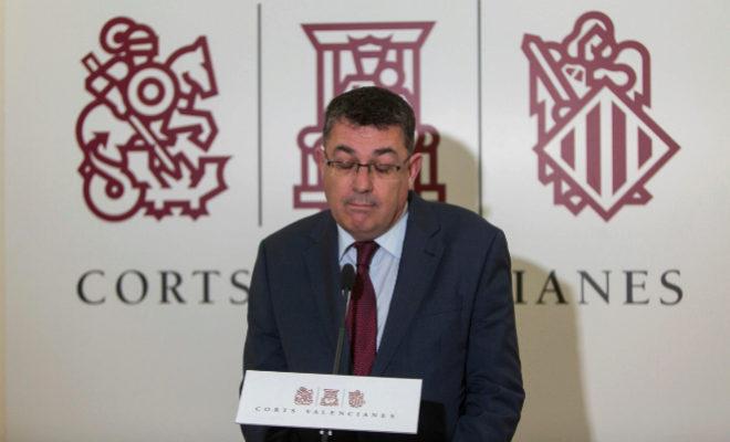 El presidente de las Cortes y del Bloc, Enric Morera.