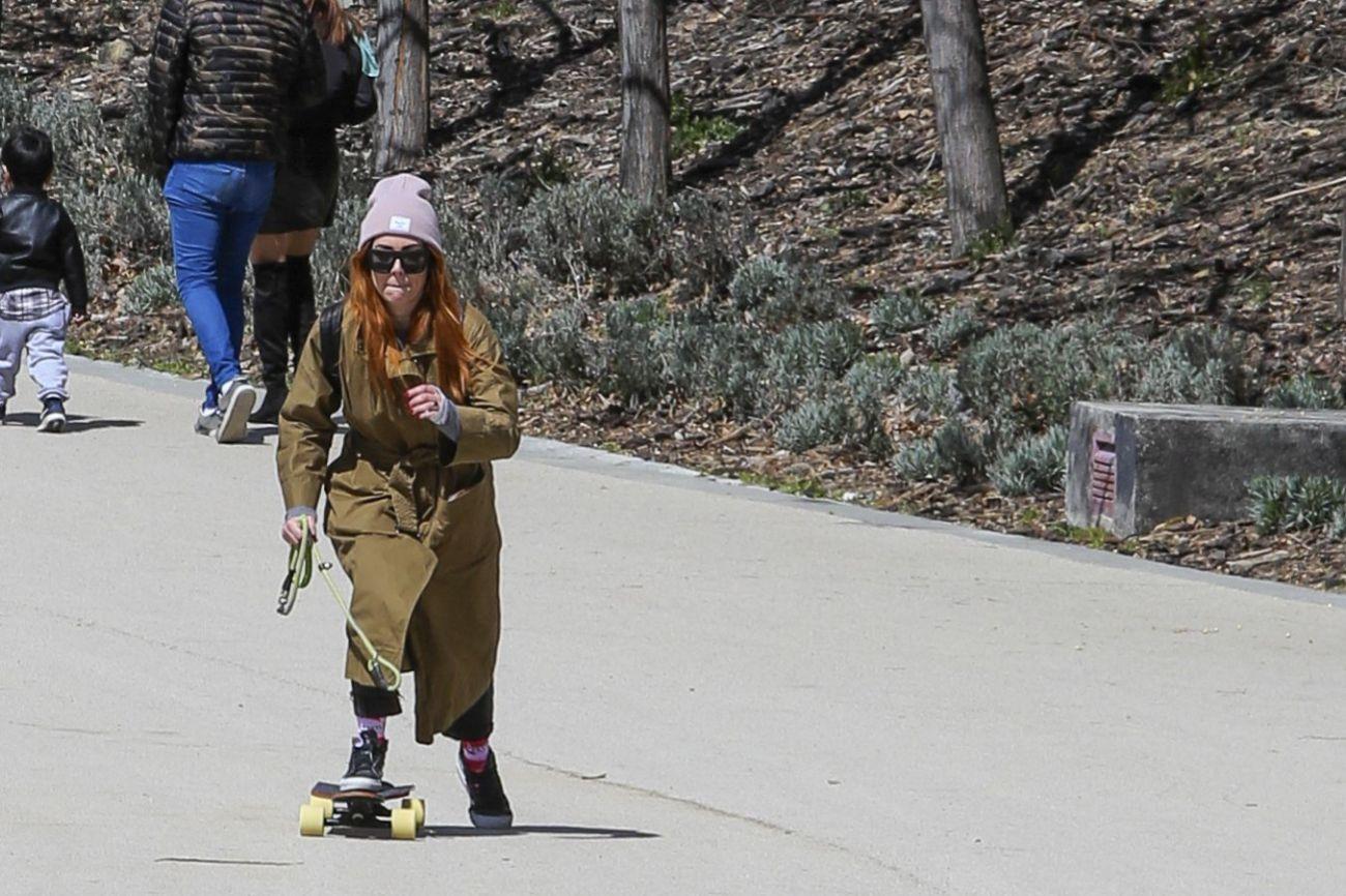 Blanca Suárez, 'skater'