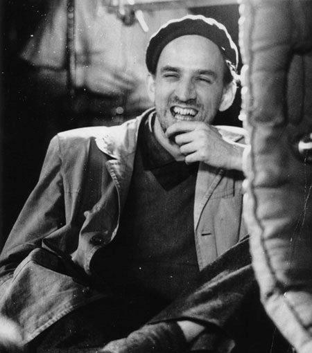 Foto de archivo del cineasta sueco, Ingmar Bergman.
