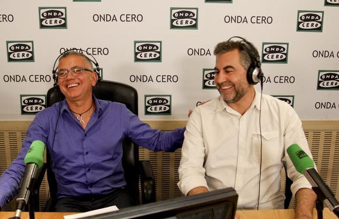 Juan Ramón Lucas y Carlos Alsina.