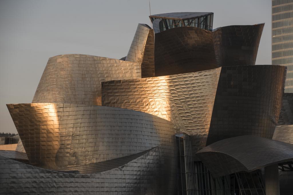 Edificio del museo Guggenheim Bilbao.