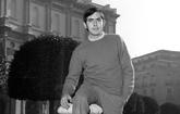 Joan Manuel Serrat, durante la promoción de su participación en...